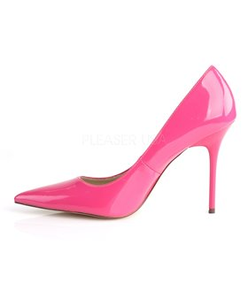 Stiletto Pumps CLASSIQUE-20 - Lack Hot Pink