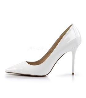 Stiletto Pumps CLASSIQUE-20 - Lack Weiß