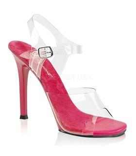Sandalette GALA-08 - Klar/Pink