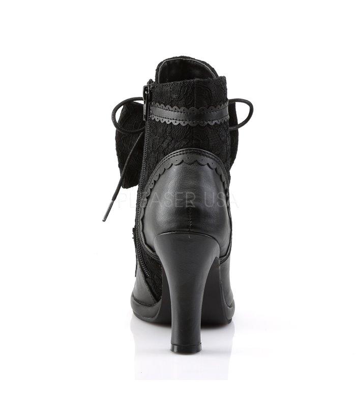 Demonia Stiefel GLAM-200 Schwarz