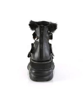 Plateau Schuhe NEPTUNE-150 Schwarz