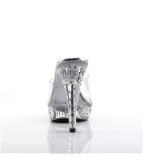 Pantolette COCKTAIL-501SDT - Klar/Klar