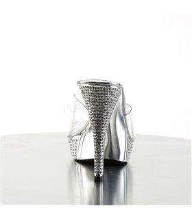 Pantolette ELEGANT-401 - Silber