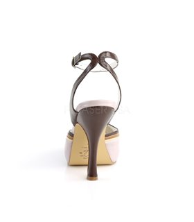 Retro Sandalette CUTIEPIE-01 - Zartlila