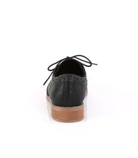 Pin Up Couture Herren Halbschuhe HEPBURN-26 schwarz
