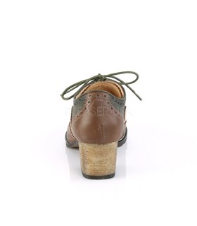 Pin Up Couture Herren Schuhe RUSSELL-34 braun grau