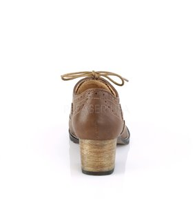 Pin Up Couture Herren Schuhe RUSSELL-34 braun