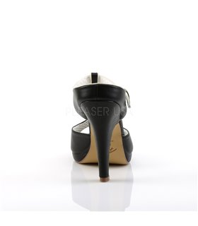 Pin Up Couture Sandaletten SIREN-09 Schwarz