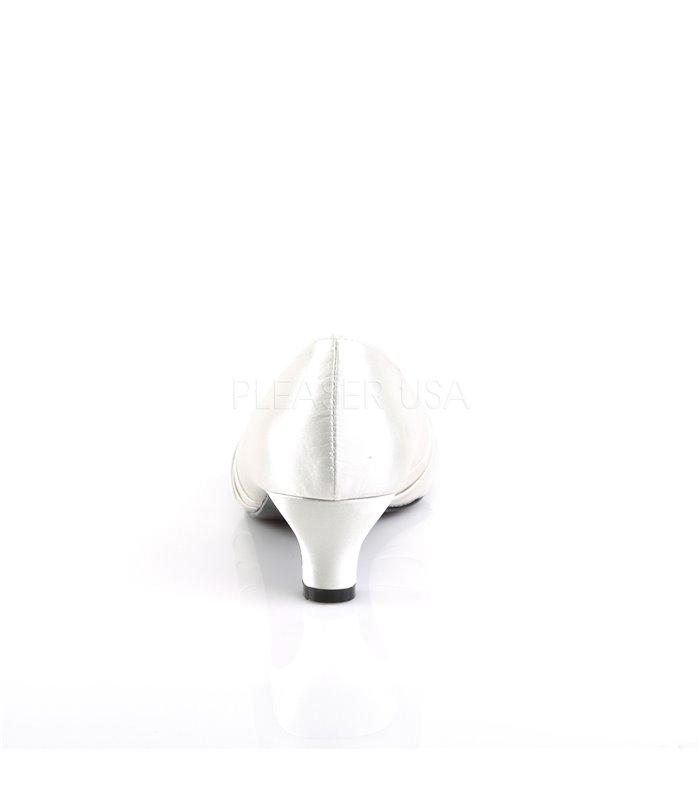Pleaser Pumps FAB-422 Weiss