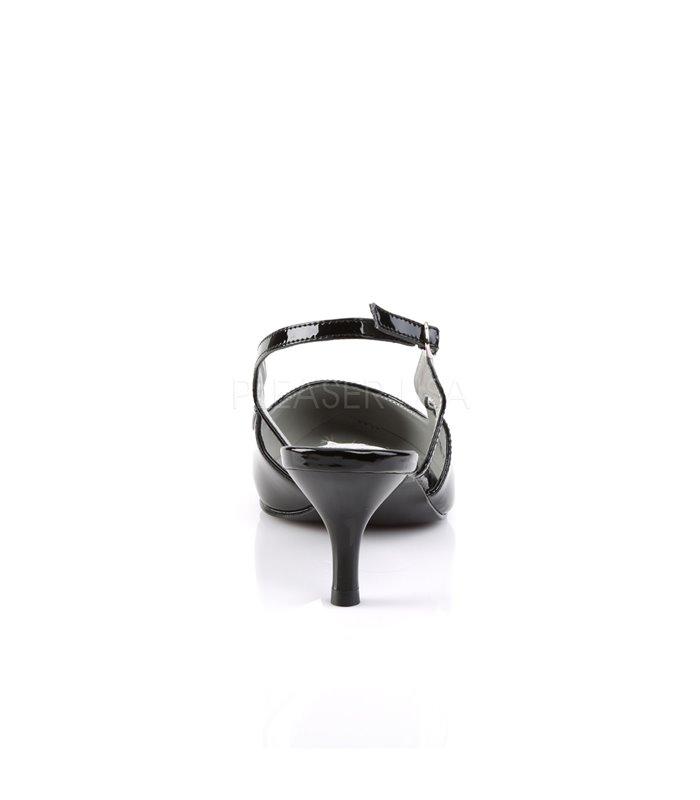 Pleaser Pumps KITTEN-02 Schwarz