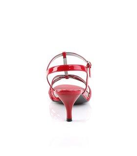 Pleaser Sandaletten KITTEN-06 Rot