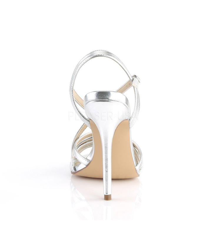 Pleaser Sandaletten Amuse 13 Silber Online G 252 Nstig Kaufen