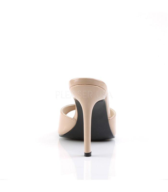 Pantolette CLASSIQUE-01 - Lack Nude