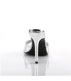 Pantolette CLASSIQUE-01 - Silber Metallic