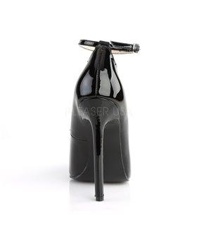 Stiletto Pumps SEXY-23 - Lack schwarz