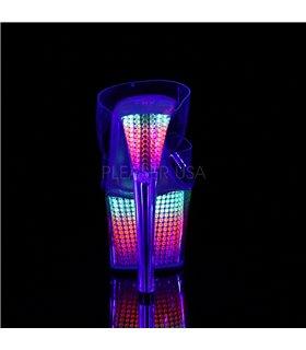 Plateau Pantolette SKY-302SRS - Neon Multi