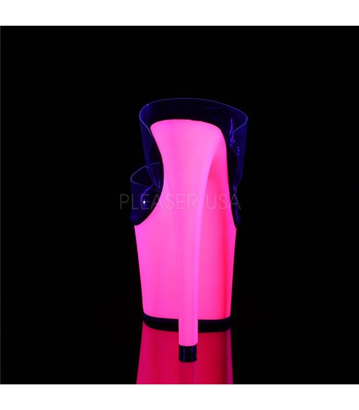 Plateau Pantolette SKY-302UV - Neon Pink
