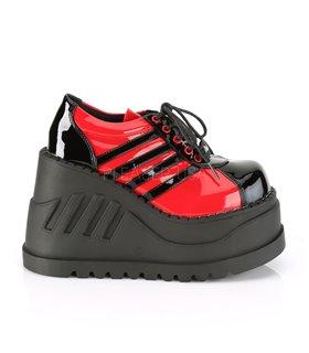 Plateau Schuhe STOMP-08 - Rot