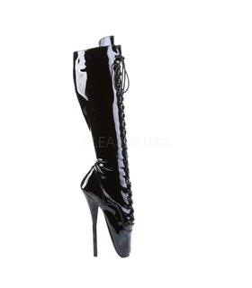 Fetisch Stiefel BALLET-2020 - Lack Schwarz