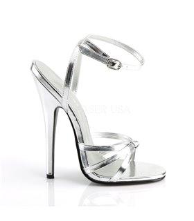 Extrem High Heels DOMINA-108 - Silber