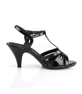 Sandalette BELLE-322 - Lack Schwarz