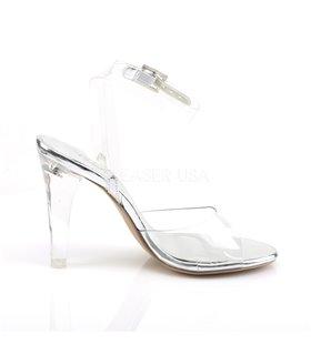 Sandalette CLEARLY-406 - Klar