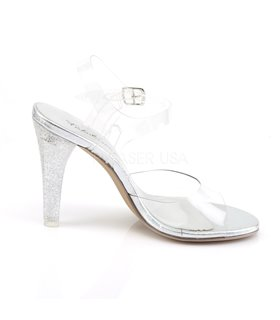 Sandalette CLEARLY-408MG - Klar