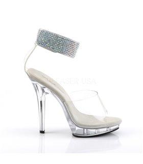 Sandalette LIP-142- Klar/Klar