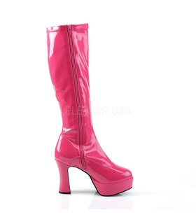 Plateaustiefel EXOTICA-2000 - Hot Pink