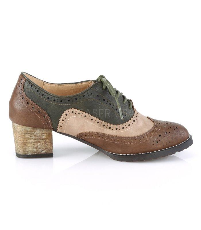 sports shoes 74daa c4f9c Pin Up Couture Herren Schuhe RUSSELL-34 braun grau