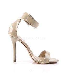 Sandalette AMUSE-10 - Lack Creme