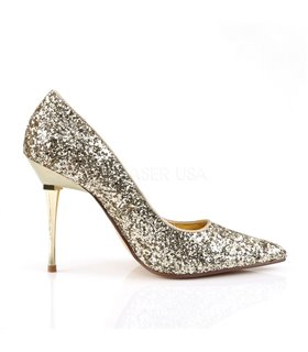 Stiletto Pumps APPEAL-20G - Glitter Gold