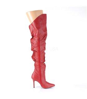Overknee Stiefel CLASSIQUE-3011 - Rot