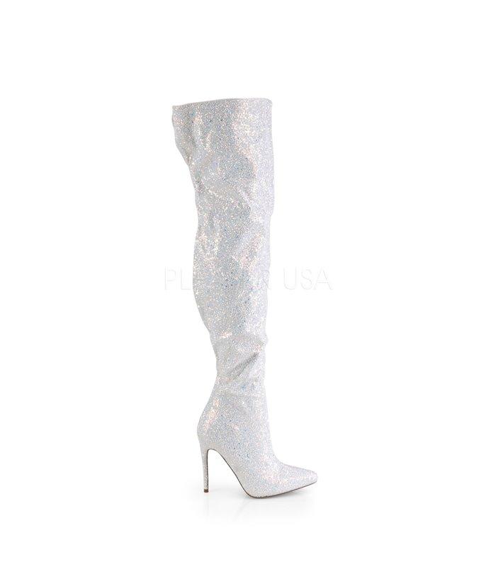 Overknee Stiefel COURTLY-3015 - Weiß