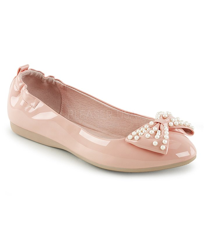 Pin Up Couture Ballerinas IVY-09 Pink