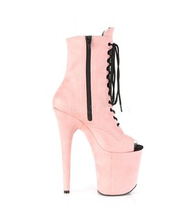 Extrem Plateau Heels FLAMINGO-1021FS - Baby Pink