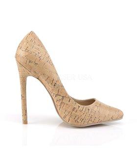 Stiletto High Heels SEXY-20 - PU Kork Design