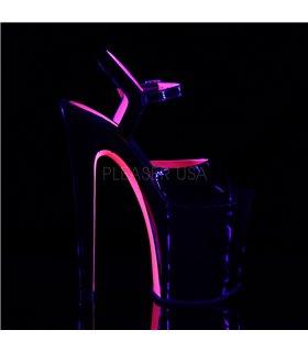 Extrem Heels XTREME-809TT - Lack Schwarz