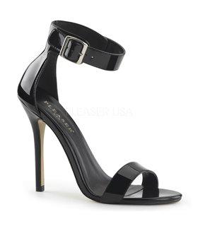 Sandalette AMUSE-10 - Lack Schwarz