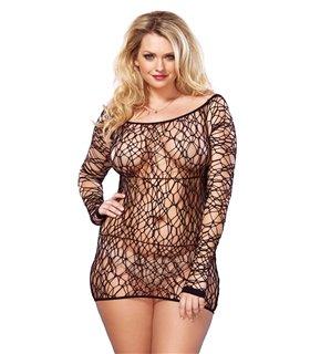 Leg Avenue Web Net Mini Dress Sexy Unterwäsche