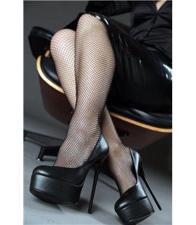 Giaro Galana 1001 luxus Plateau High-Heels schwarz matt
