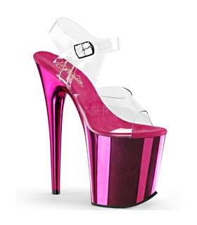 Extrem Plateau Heels FLAMINGO-808 - Hot Pink
