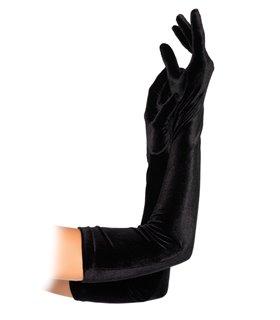 Velvet Opera Length Gloves