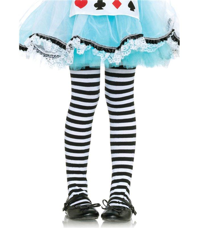 Kids Striped Pantyhose