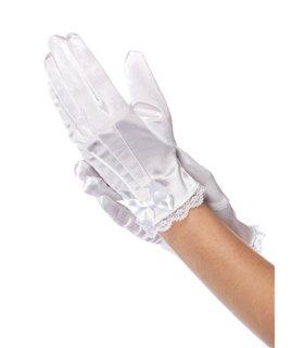 Kids Satin Gloves