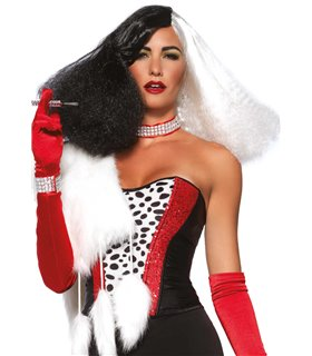 Diva disco wig