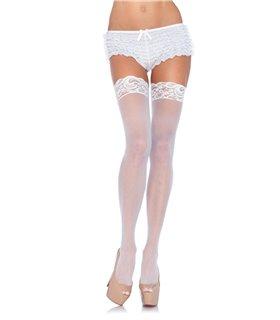 Leg Avenue Plus Size Sheer Thigh Highs sexy Strümpfe online kaufen