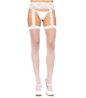 Leg Avenue Sheer Thigh Highs sexy Strümpfe original kaufen