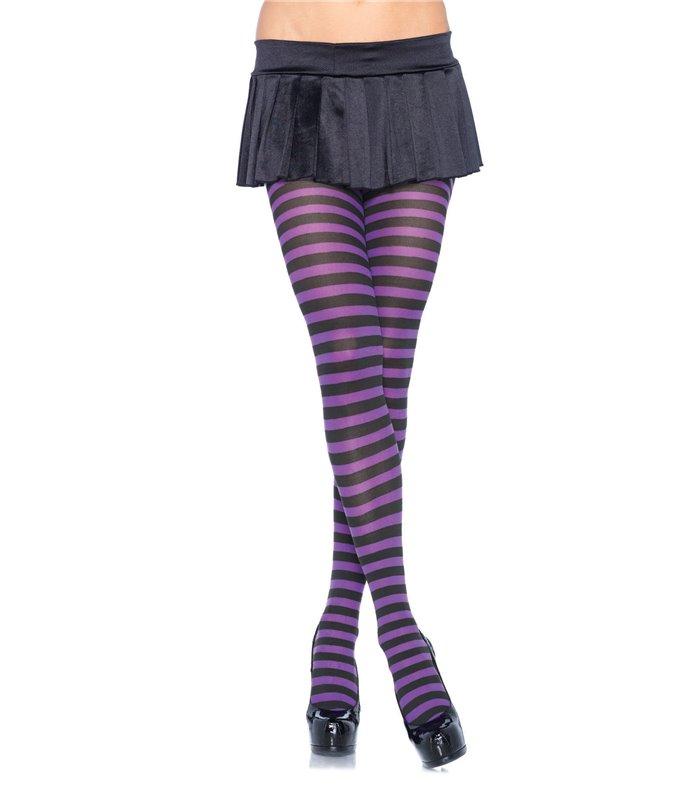 Leg Avenue Nylon Stripe Tights sexy Strümpfe