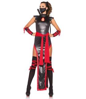 Leg Avenue Shadow Ninja Sexy Kostüm - Halloween und Karneval